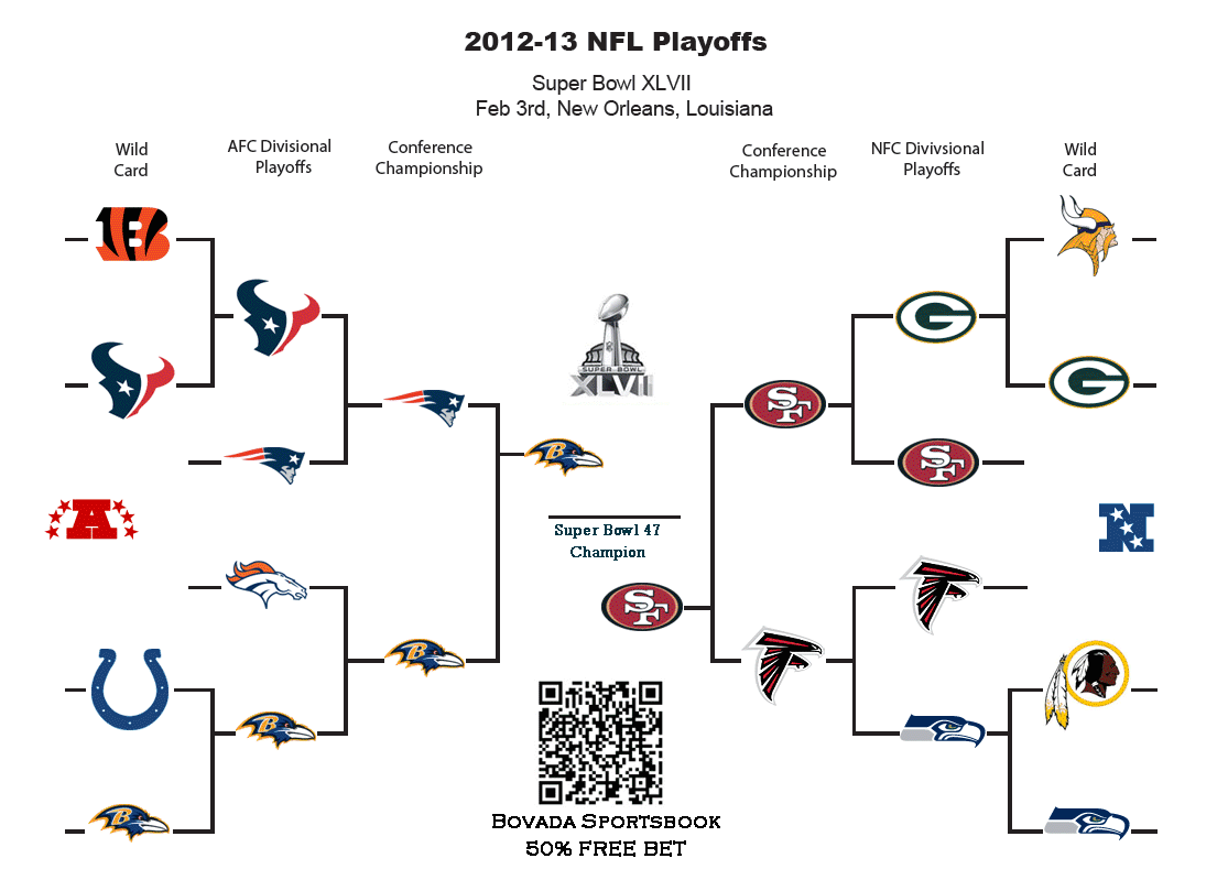 2014 NFL Football Playoffs Picture